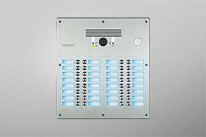 Linea 300:  2 wires video entrance panels