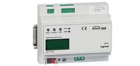 Database for KNX devices