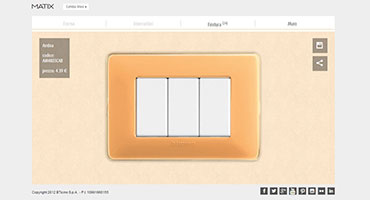 Create your cover plate-Matix