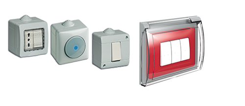 Idrobox is the BTicino offer for the protected devices: boxes, enclosures and controls, with IP40, IP44, IP55 and IP66 protection levels.