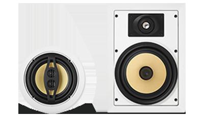 ACCENTPLUS® 2 loudspeakers