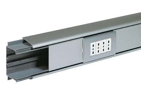 Wall mounted trunkings