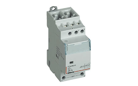 Monostable relays and contactors