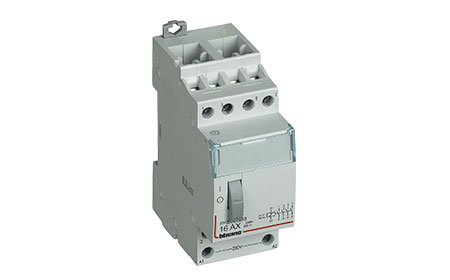 Pulse operated latching relay