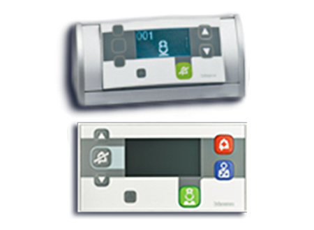 Notification and call systems for hospital rooms