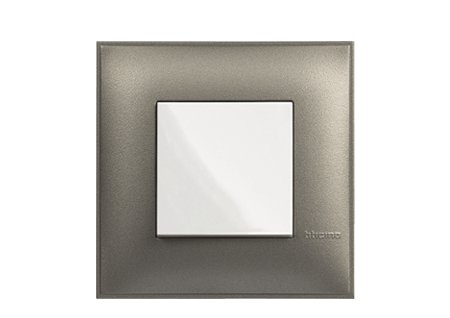 One-way Terminal Open Box with Grey Cover Plate
