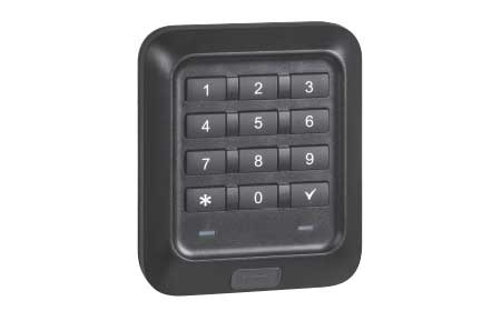 Access control with numerical keypad
