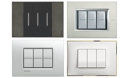 The Living Now, Air, Axolute, Livinglight, Classia and Idrobox series satisfy all the needs of systems in the home and service sector.