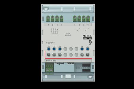 F430R3V10 Actuator with 3 relais