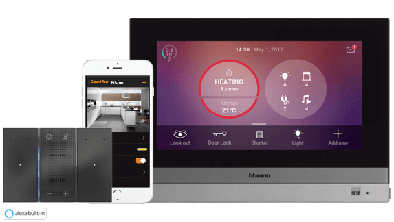 MyHOME_Up: the BTicino home automation system evolved and open to third parties.