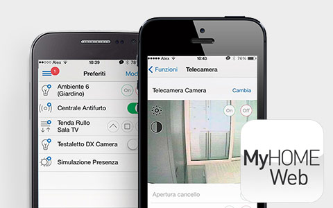 New MyHome Web App