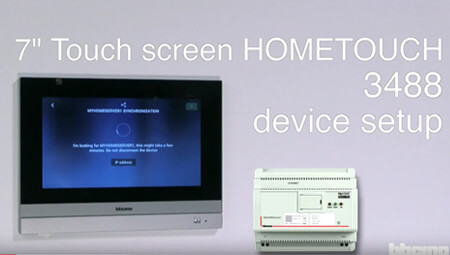 video HOME TOUCH-Setup