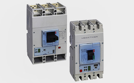 New Megatiker M4 630 and M5 1600 circuit breakers