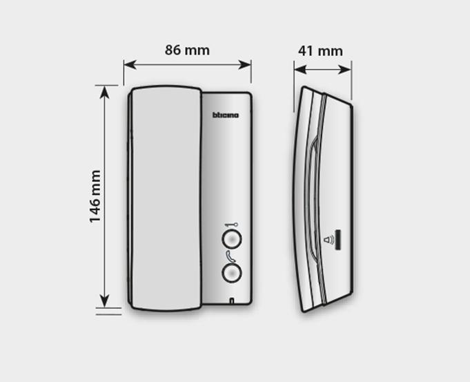 Audio HANDSET internal units