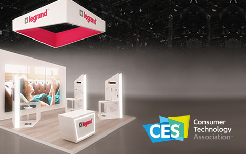 BTicino at the CES 2017 for the world launch of the Door Entry App