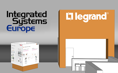 BTicino and Legrand at the ISE, Integrated System Europe 2017, Amsterdam