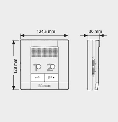 Audio handsfree internal unit