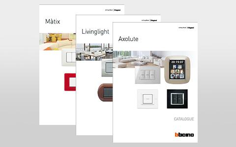 Axolute, Livinglight and Màtix catalogues update