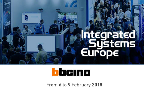 BTicino at ISE 2018