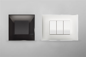 Classia: cover plates, dimmer,  electrical sockets and switches.