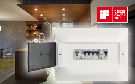 New Linea HABITA switchboards