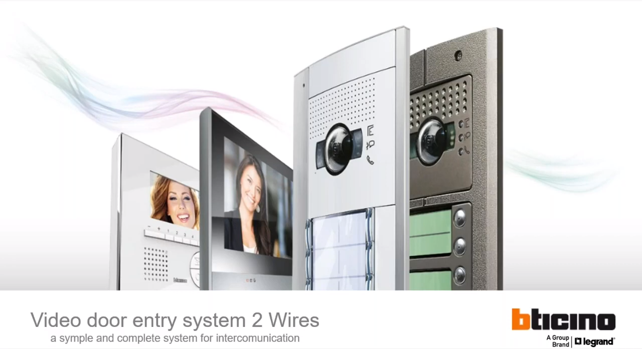 Door Entry System - 2 Wires System Introduction - 14-04-2020