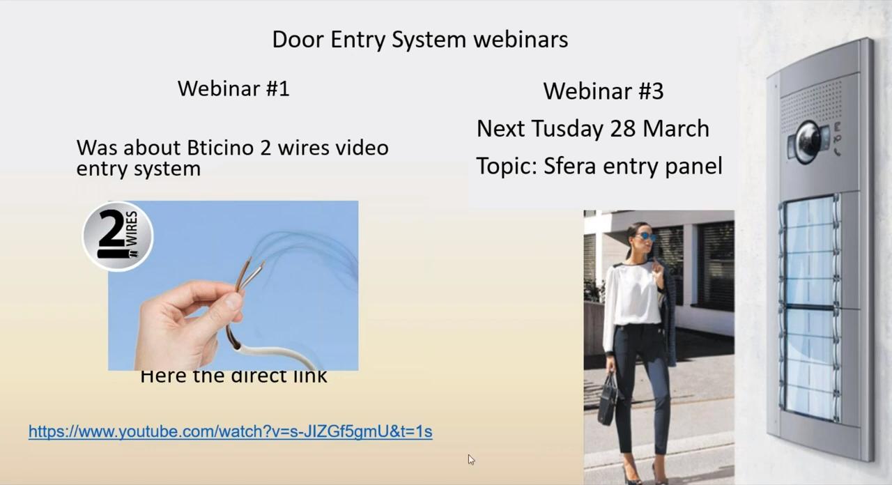 Door Entry System Web configurator - 21-04-2020