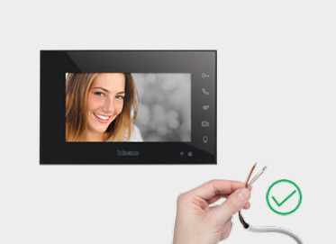 INSTALLATION OF THE CONNECTED THERMOSTAT AND VIDEO INTERCOM