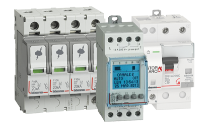 Devices for control, command, timing and signaling in electrical systems