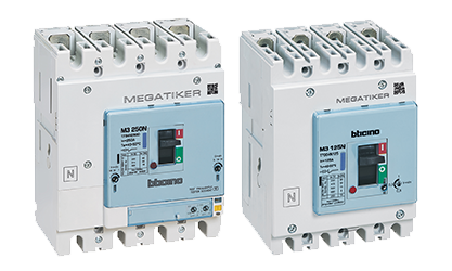 Thermal magnetic and electronic moulded-case circuit breakers up to 1600A.